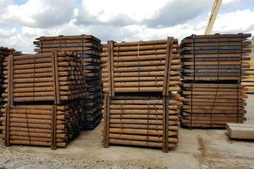 Services for wood products impregnation